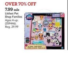 Toys R Us Black Friday: Littlest Pet Shop Family Pet Collection Set for $7.99