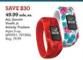 Toys R Us Black Friday: All Garmin Vivofit Jr. Activity Trackers for $49.99