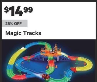 Groupon Black Friday: Magic Tracks for $14.99