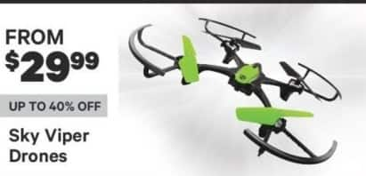 Groupon Black Friday: Sky Viper Drones for $29.99