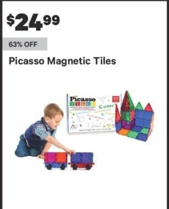 Groupon Black Friday: Picasso Magnetic Tiles for $24.99
