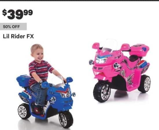 Groupon Black Friday: Lil Rider FX for $39.99