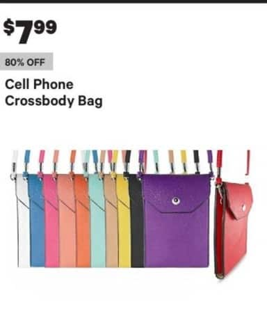 Groupon Black Friday: Cell Phone Crossbody Bag for $7.99
