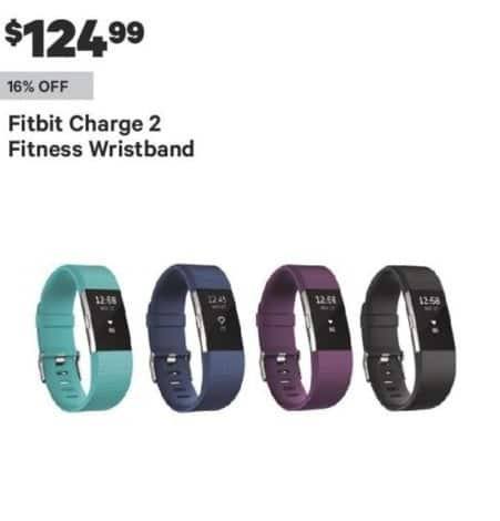 Groupon Black Friday: Fitbit Charge 2 Fitness Wristband for $124.99