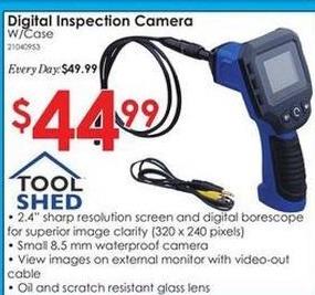 Rural King Black Friday: Digital Inspection Camera w/ Case for $44.99