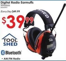 Rural King Black Friday: Digital Wireless Radio Earmuffs for $39.99