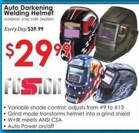 Rural King Black Friday: Auto Darkening Welding Helmet for $29.99