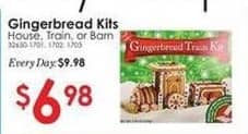 Rural King Black Friday: Gingerbread Kits (House Train Or Barn) for $6.98