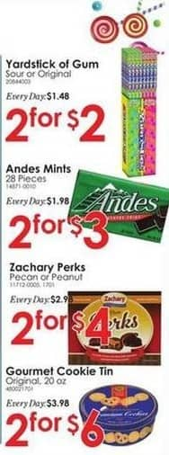 Rural King Black Friday: Andes 28-pc. Mints - 2 For $3
