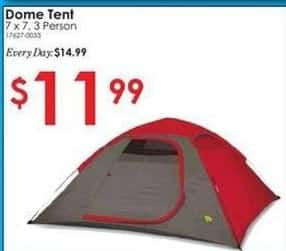 Rural King Black Friday: Dome Tent for $11.99