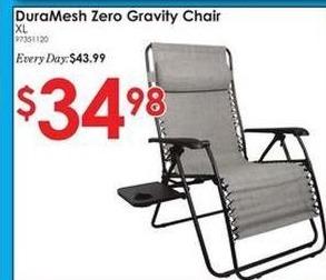 Rural King Black Friday: Duramesh Zero Gravity Chair for $34.98