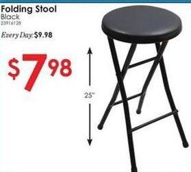 Rural King Black Friday: Folding Stool for $7.98