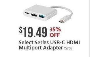 Monoprice Black Friday: Select Series USB-C HDMI Multiport Adapter for $19.49