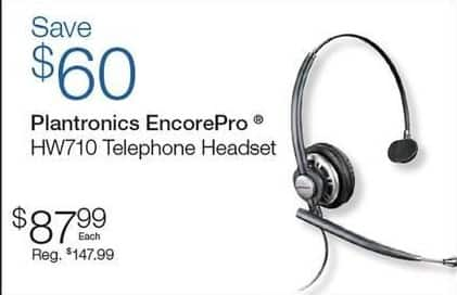 Quill Cyber Monday: Plantronics EncorePro HW710 Telephone Headset for $87.99