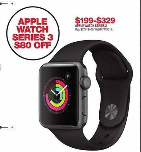 f166f612e1b86 Macy s Black Friday  Apple Watch Series 3 for  199.99 -  329.00. See Deal
