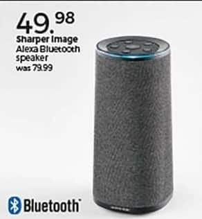 Stein Mart Black Friday Sharper Image Alexa Bluetooth Speaker For