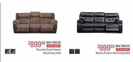 Brilliant Value City Furniture Black Friday Brisco Power Reclining Pdpeps Interior Chair Design Pdpepsorg