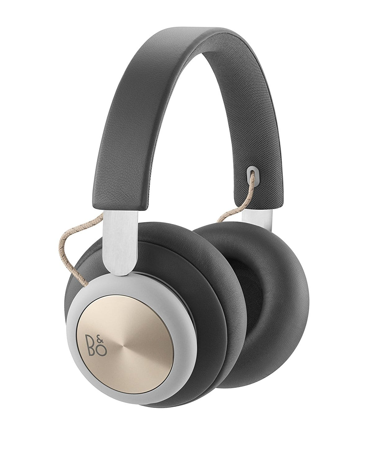 B&O PLAY by Bang & Olufsen Beoplay H4 Wireless Over-Ear Headphones, Bluetooth 4.2 (Charcoal Gray) $205.11