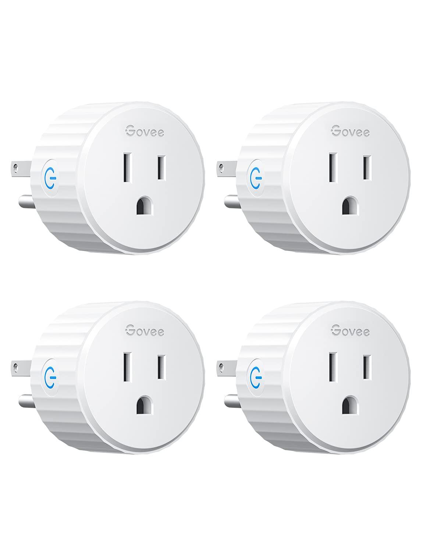 Govee 4 pack WiFi smart plugs $15 at Amazon YMMV