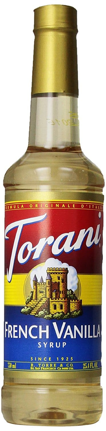 For Prime Members: Torani Syrup, French Vanilla, 25.4 Ounce (Pack of 4) $20.86 w S&S