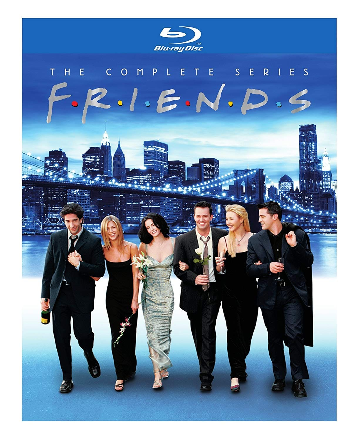 Friends the Complete Series bluray Amazon Repackaged $59.99 plus tax