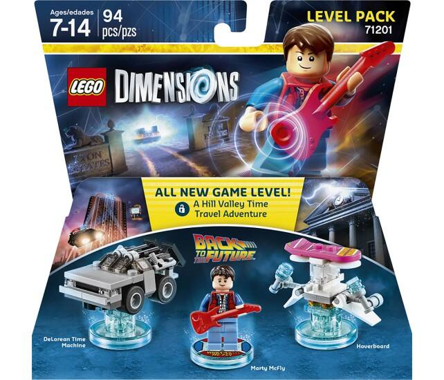 LEGO Dimensions Back to the Future Level Pack - $11.99