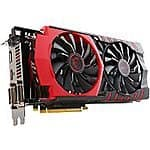 MSI R9 390x GPU and MSI Mouse $370 AC AR at Newegg