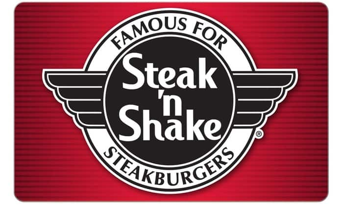 Steak 'n Shake $10 For $20 eGift Card at Groupon - Targeted - Invite Only