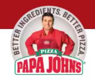 Papa John's 50% off regular price pizzas