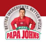 Papa John's 3 Toppings XL Pizza - $10 - Code FP2W8