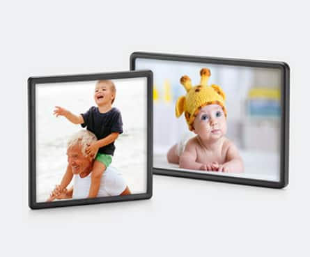 "Walgreens Custom Framed Photo Magnet (4""x4"" or 4""x6"") $1.75 each + Free Store Pickup"