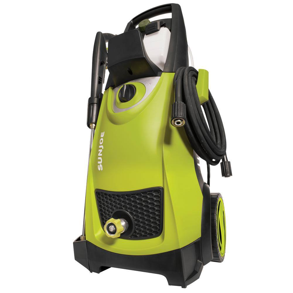 Pressure Joe 2,030 psi 1.76 GPM 14.5 Amp Electric Pressure Washer - $ 109 - Home Depot $109