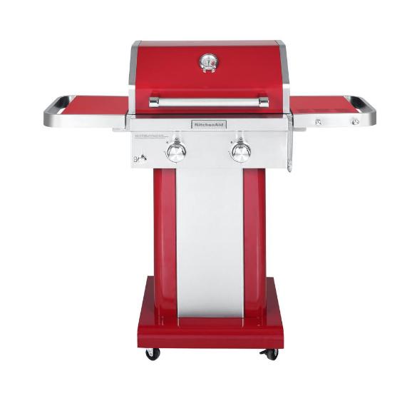 Kitchenaid 2 Burner Gas Grill Red 199 Home Depot Ymmv