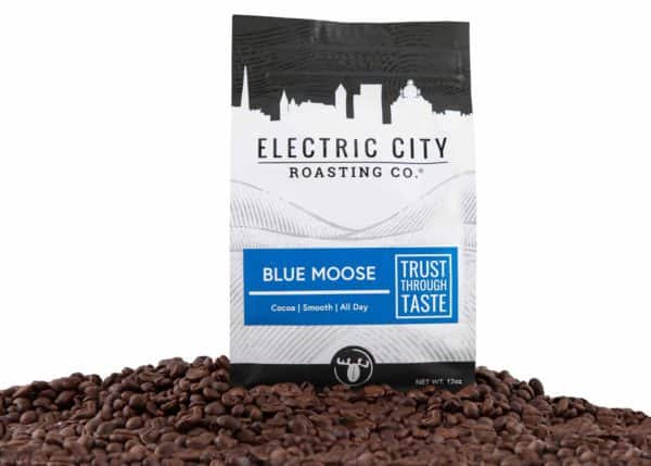 Electric City Roasting Co.: 5lb Bag of Blue Moose blend $49.99 + Free Shipping