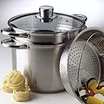 Calphalon Simply Stainless Steel 8 Qt. Multi-Pot with Steamer and Pasta Insert - $60 + FS
