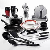 Walmart Deal: Gibson Home Complete Kitchen 38-Piece Combo Set - $20 + pickup from Walmart