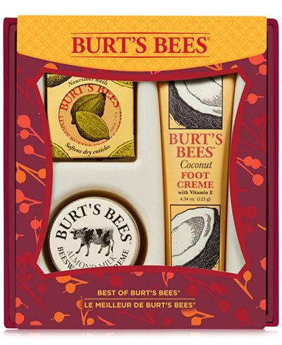 Burt's Bees Best of Burt's Bees Gift Set - $10 + FS from Macy's