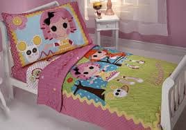 Lalaloopsy Sew Cute 4 Piece Toddler Bedding Set - $14 + FS with Amazon Prime