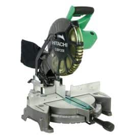 """Hitachi 10"""" Compound Miter Saw (Reconditioned Grade A-) $59.97 +S&H 2 days only"""