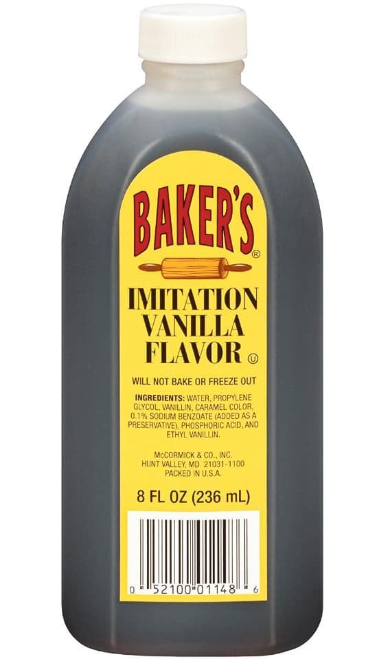 8oz McCormick Baker's Imitation Vanilla Extract $0.98 cents + Free Prime Shipping @ Amazon