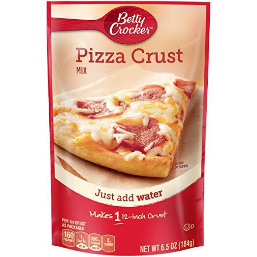 $1.05 shipped Betty Crocker 12 Inch Pizza Crust Mix, 6.5 oz w/ Prime @ Amazon
