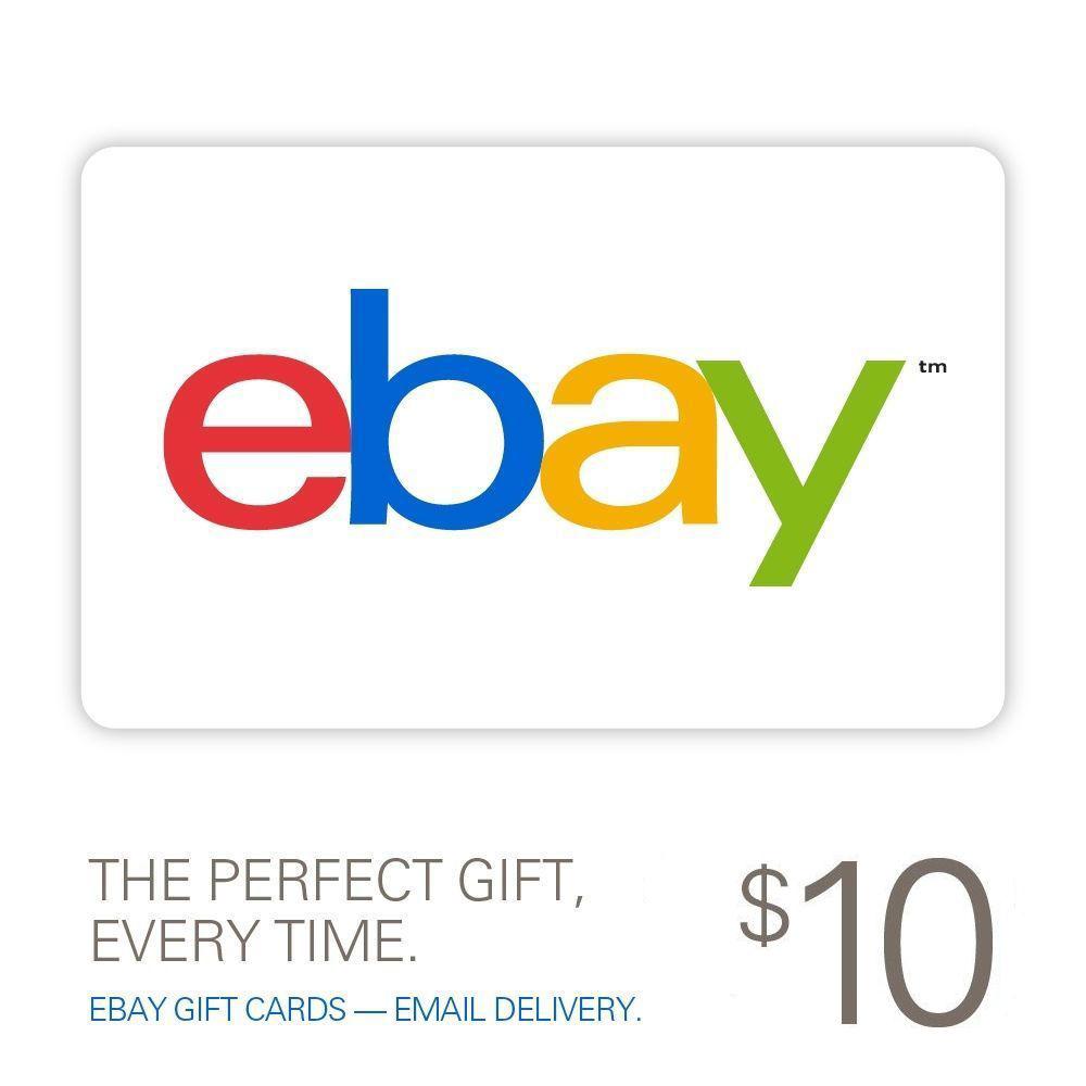 eBay $20 gift card for $10 using PBLACKF17
