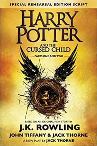 Harry Potter and the Cursed Child (Hardcover) $6.72 shipped with Prime