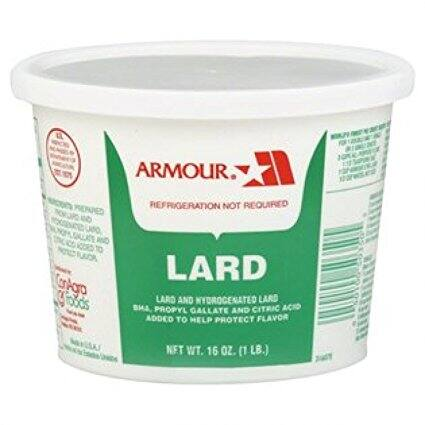 one pound of lard $1.98 shipped with prime