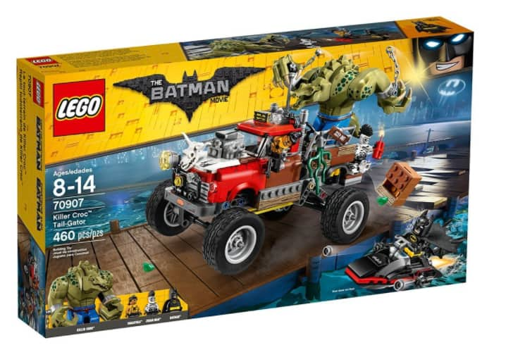$30 shipped LEGO Batman Movie Killer Croc Tail-Gator 70907 w/ Prime ...