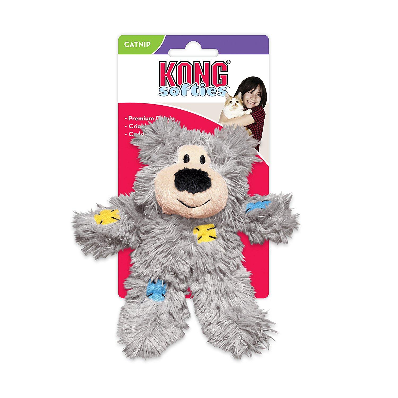 $1.07 shipped KONG Softies Patchwork Bear Catnip Toy w/ Prime @ Amazon