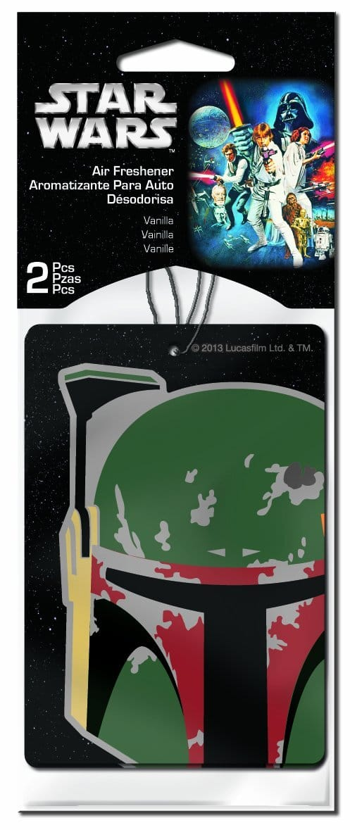 $1.37 shipped Star Wars 'Boba Fett' Air Freshener, (Pack of 2) w/ Prime @ Amazon