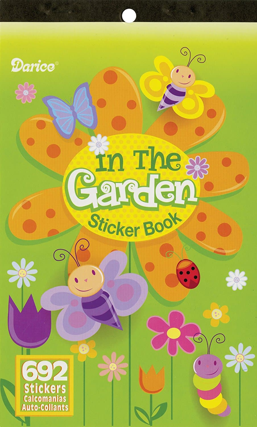 $1.24 shipped Darice Sticker Book In The Garden-692 Stickers w/ Prime @ Amazon