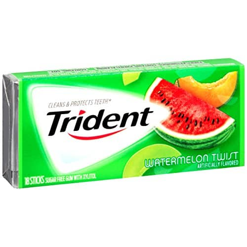 Will be gone before hit FP,  AMAZON:Trident Sugar Free Gum (Watermelon Twist, 18-Piece, 12-Pack) for $1.49 add-on item