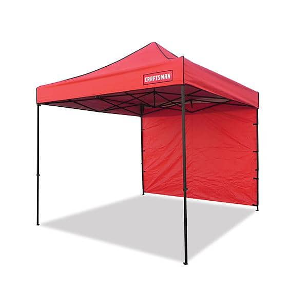 Craftsman Commercial 10' x 10' Instant Canopy - Red $99 plus shipping or store order to void shipping